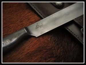 gravure couteau